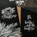 Cozy Christmas Faux Chalkboard Signs & SVG Bundle!