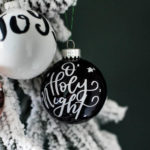 DIY Handlettered Ornaments – 3 Ways to Make Them!