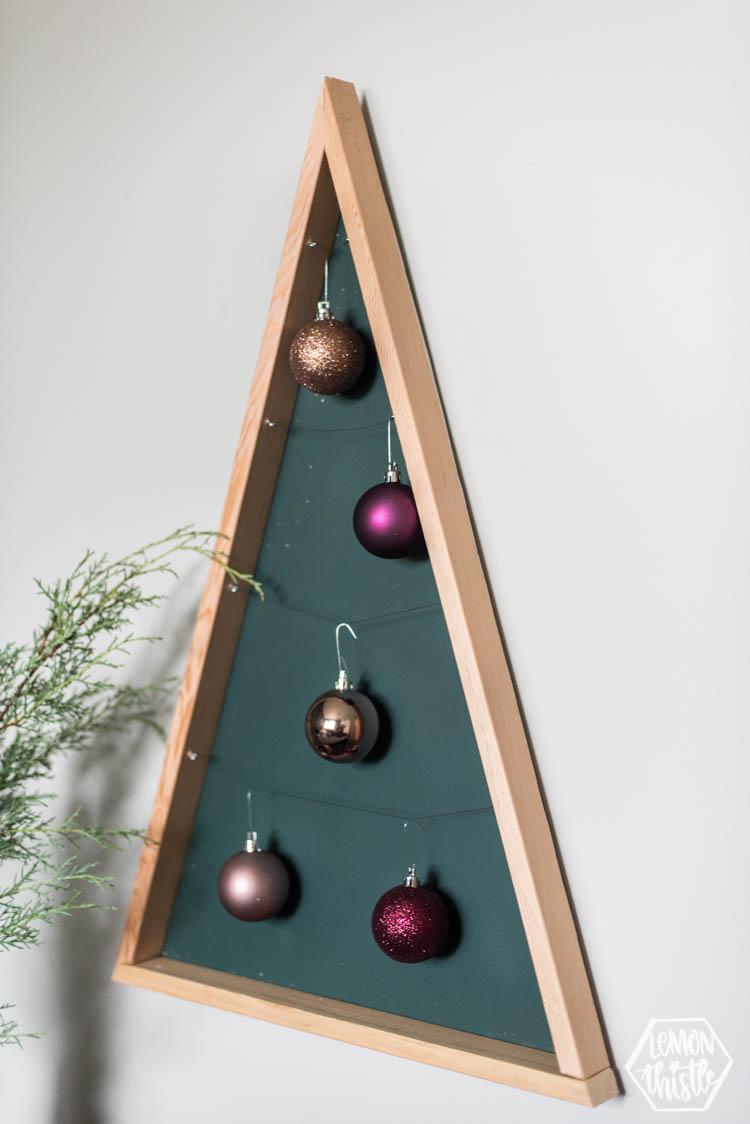Modern DIY Ornament Holder Tree