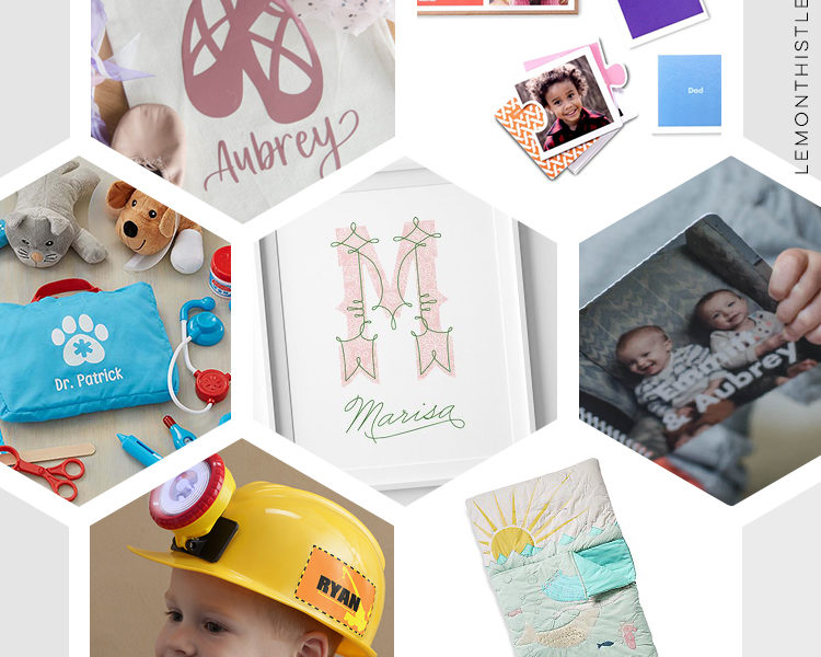 15 rad personalized gifts for kids... from monograms to prints to toys with their names- these gift ideas for kids are so fun!