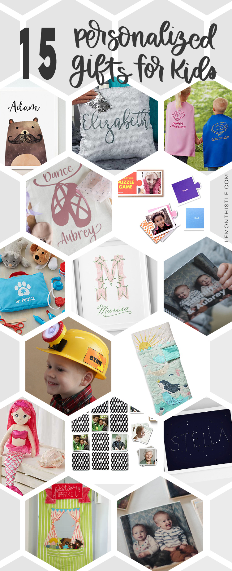 15 Rad Personalized Gifts For Kids Lemon Thistle