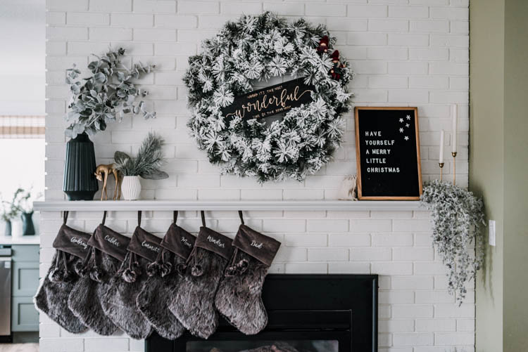 Personalized Christmas Decor- some beautiful and modern options!