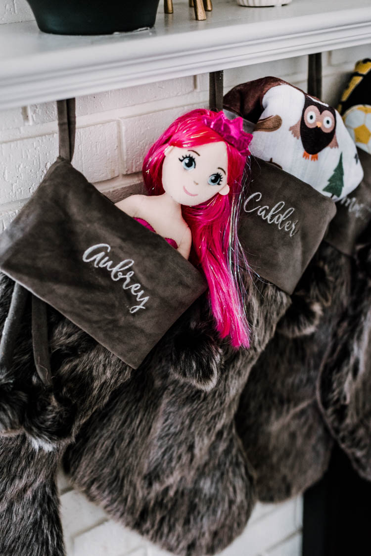 Personalized Mermaid Doll- the name on the tail!