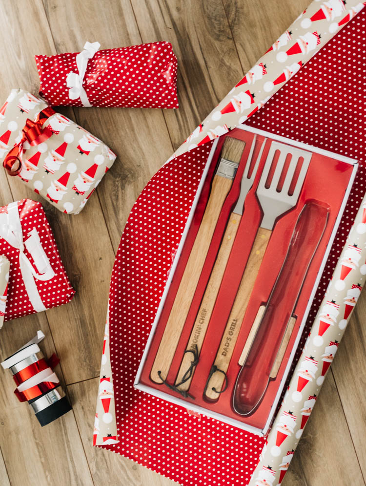 Personalized Barbecue grilling tool set
