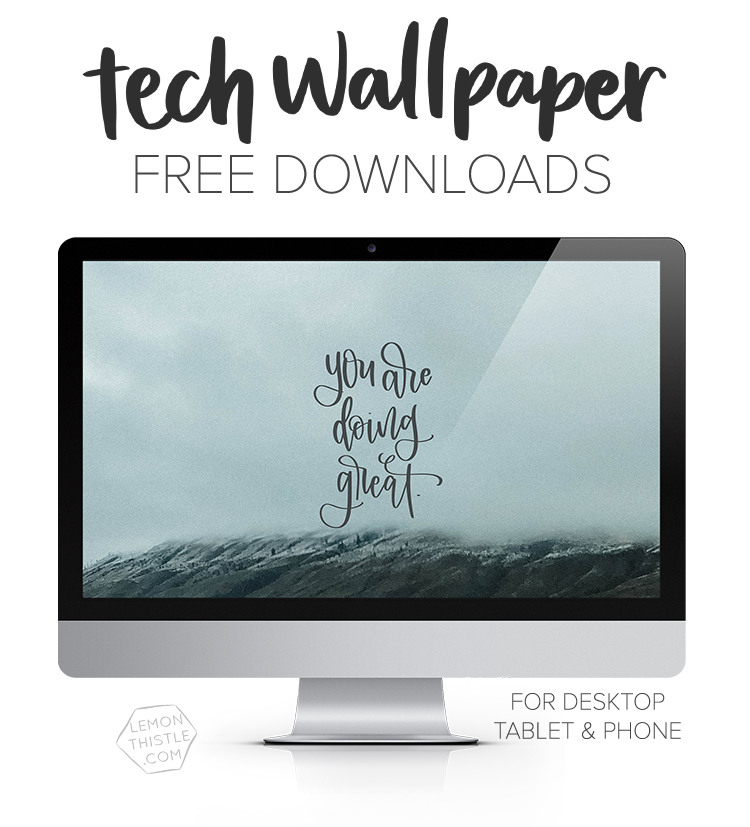 New tech wallpapers every month for free download