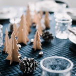 DIY Wooden Trees Tablescape for the Holidays