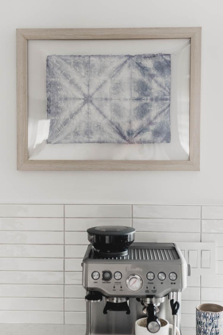 DIY Modern textile art