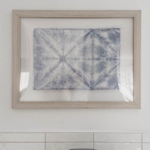 Simple DIY Faux Shibori tutorial