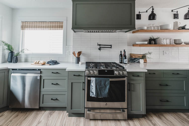Mix and match kitchen appliance brands still look great!