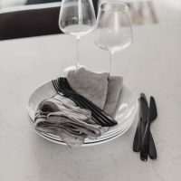 Beautiful soft veining in this quartz countertop