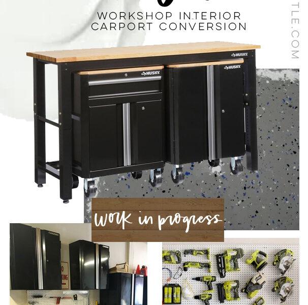 Garage Interior Design Plans & Inspiration (with sources!)