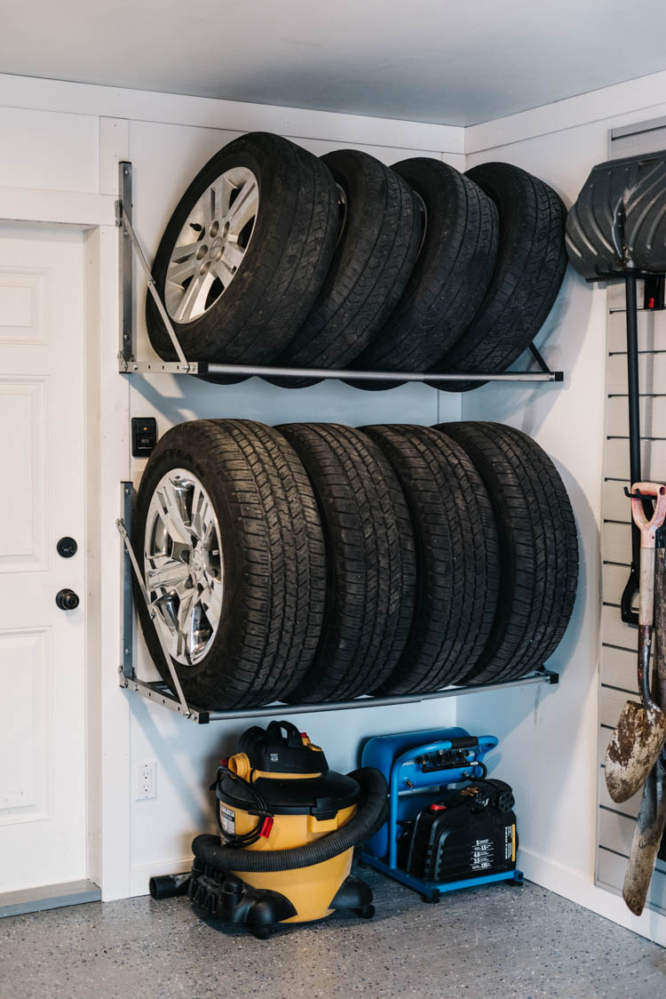 Great Tire Storage for in the garage