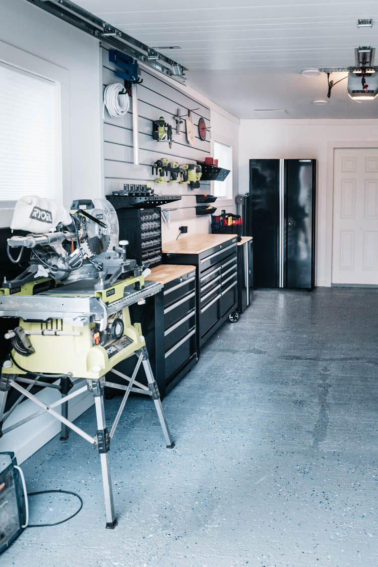 Garage Workshop Setup