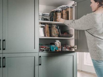 Pantry + fridge organization tips for families
