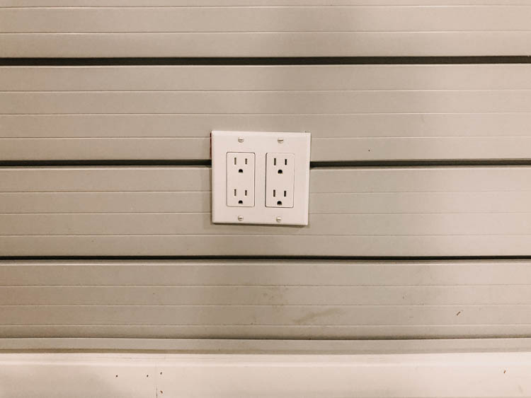 Outlet in SLAT wall- how to cut the slats