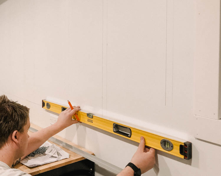 How to measure and mark before installing slat wall