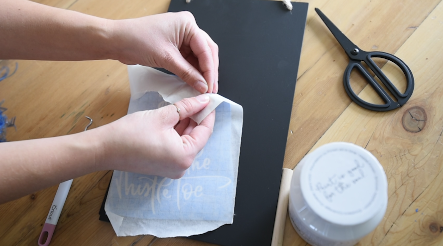 HOW to use transfer tape for vinyl and what kind to use