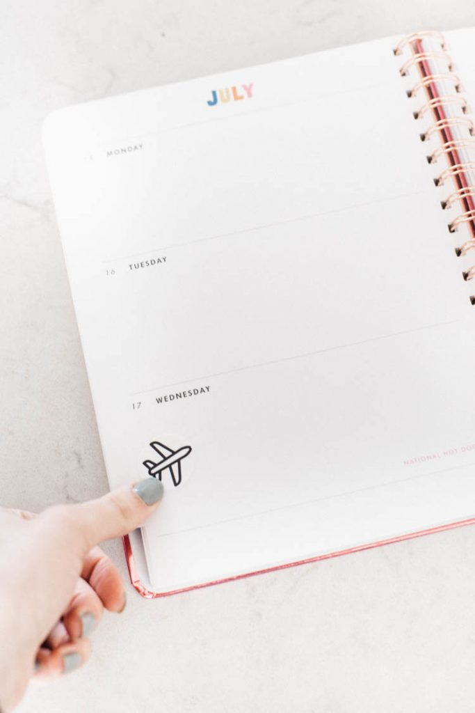 how to design and make your own planner stickers!