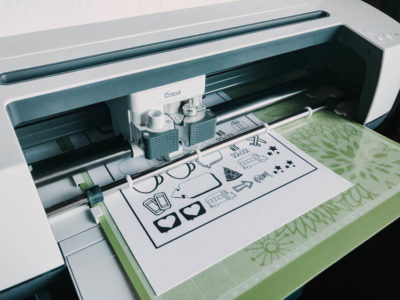 How to use the print then cut feature in cricut design space