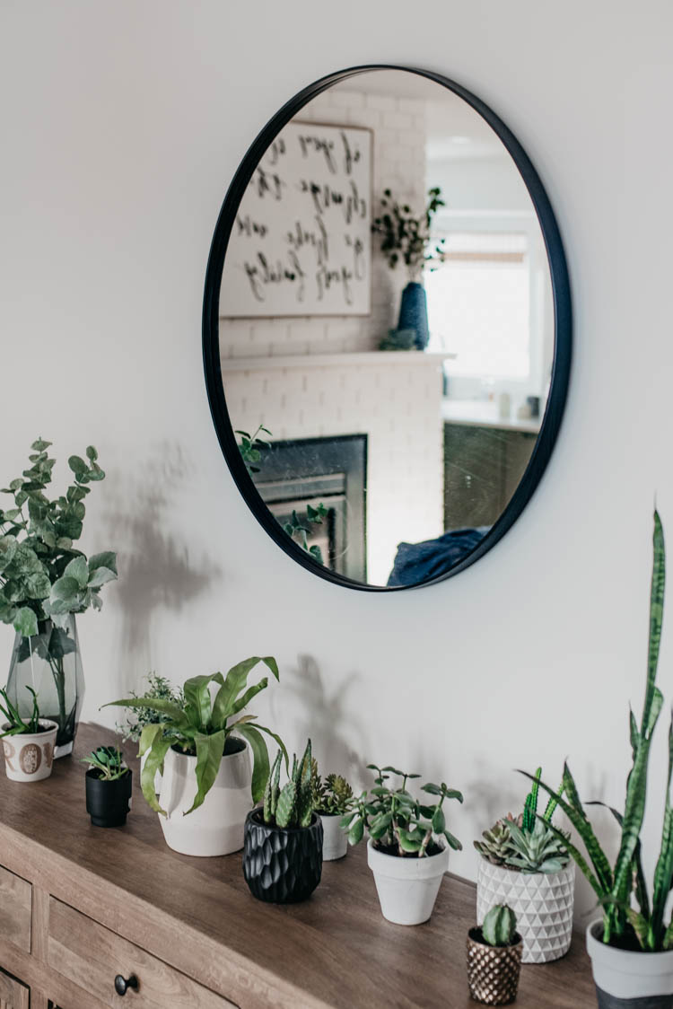 plants on plants on plants in this spring home tour