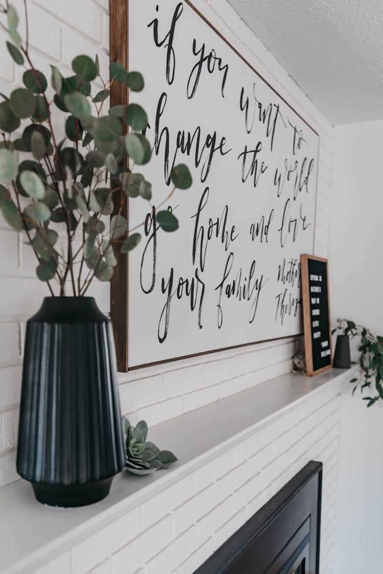 Eucalyptus for spring decor