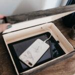Modern DIY Charging Box