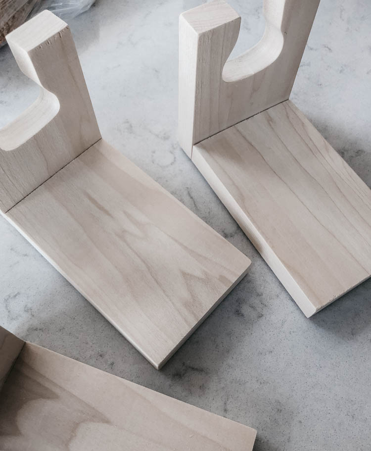 Sanded maple guitar holders- DIY tutorial and plans