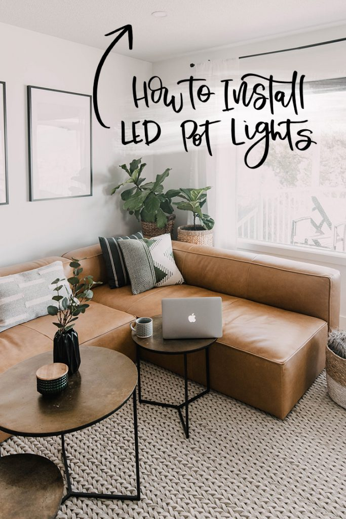 How to replace a light fixture with a pot light! LED and no going in the attic!
