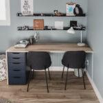 Plywood DIY Double Desk: IKEA Hack!