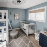 Shared Boys Bedroom – Nordic Industrial One Room Challenge Reveal
