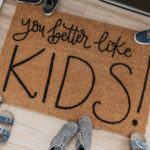 DIY Personalized Door Mats | How to Letter on Coir Mats!