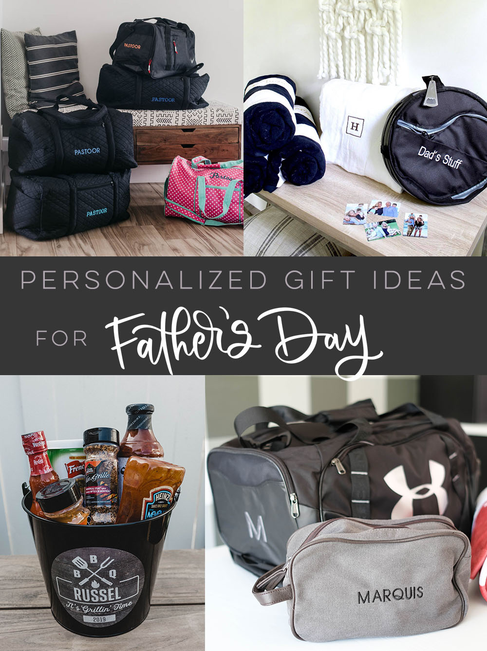 Personalized gift ideas for Father's Day... some great ones in here!
