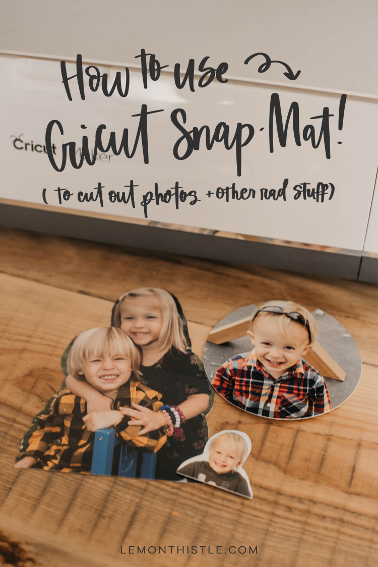 How to use cricut snap mat to cut photos... I love the idea of cutting silhouettes but didn't know how
