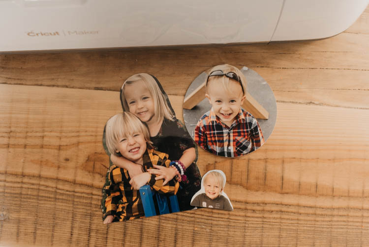 how to cut photos using cricut snap mat- so interesting!