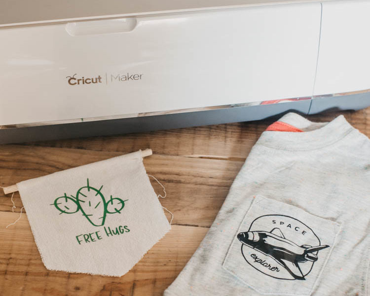 Such a good detailed tutorial on how to use up vinyl scraps, draw on precut shapes and surfaces, and how to cut out photos using Cricut snapmat.