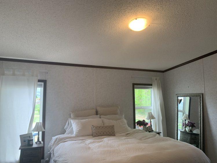 Farmhouse bedroom BEFORE photos