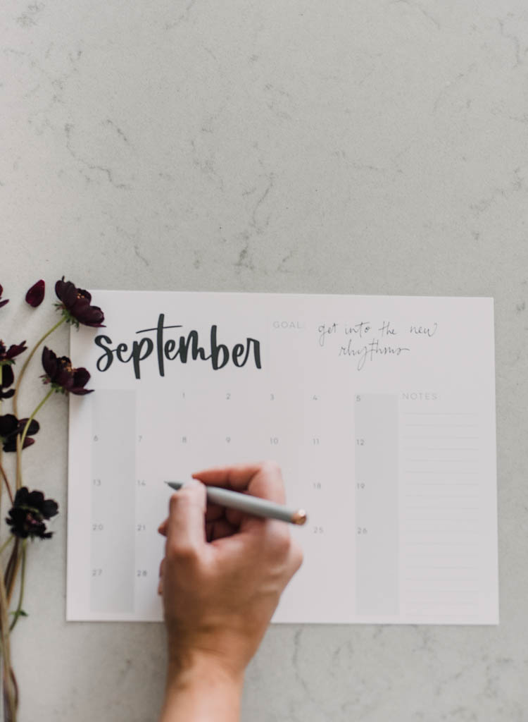Free Printable calendar for 2020 - minimalist styles in 5 formats