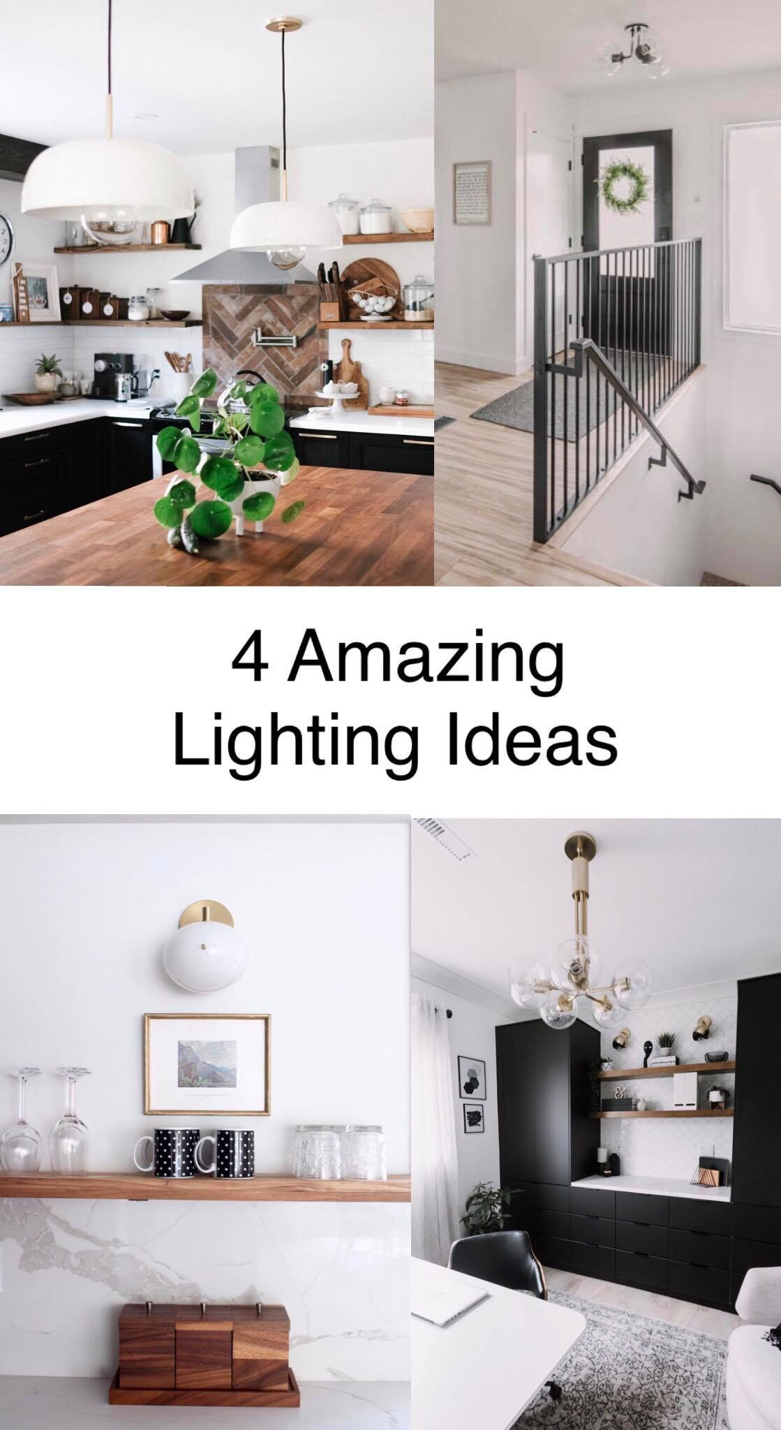 4 great articles about choosing lights! Love these spaces too