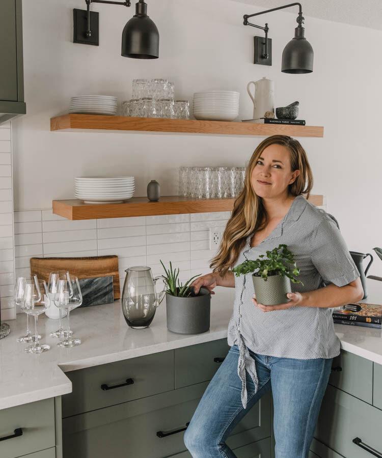 How To Style Kitchen Open Shelves Lemon Thistle