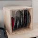 DIY Sawblade Storage box with acrylic dividers