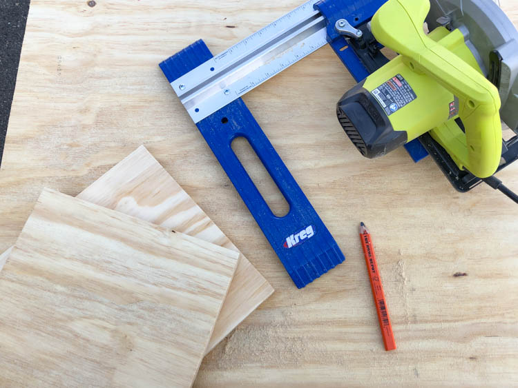 How to use a Kreg Rip Cut to cut plywood (for a DIY saw blade storage box)