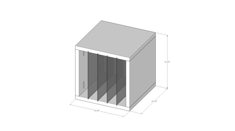 DIY Sawblade Storage Plans