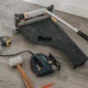 Tools for laying vinyl plank flooring quickly