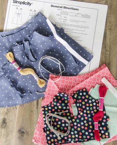 Cricut Maker DIY Doll Dress gift idea