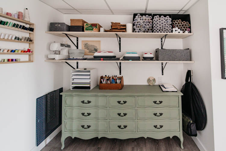 The most beautiful craft closet