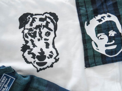 Matching pyjamas for your pup and you- with eachothers face