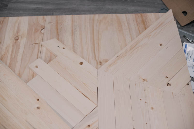 How to make a modern barn door- the angles you need to know