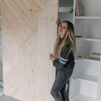 How to build your own modern barn door