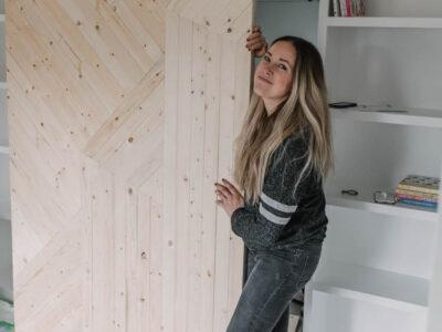 How to build your own modern barn door