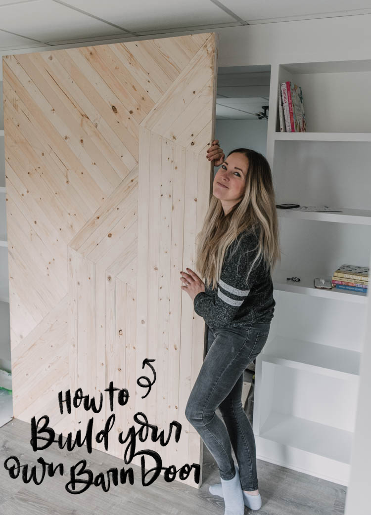 How to build your own modern barn door (in any size!)